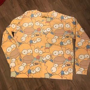 The simpsons sweatshirt